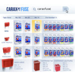 CARAX Glow Fuse. Mini/Standard/Low Profile/Cartridge JCase Mini-Maxi