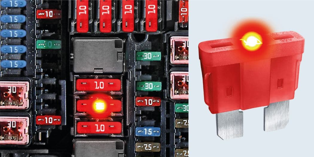 EASILY AND QUICKLY DETECT BLOWN FUSES